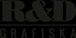 R&D Grafiska – Tryck, Appar, Web Logotyp